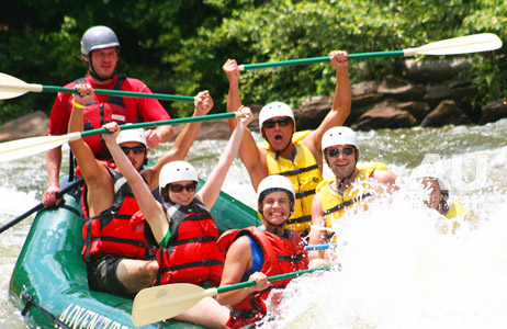 Classic Middle Ocoee Whitewater Adventure for Two